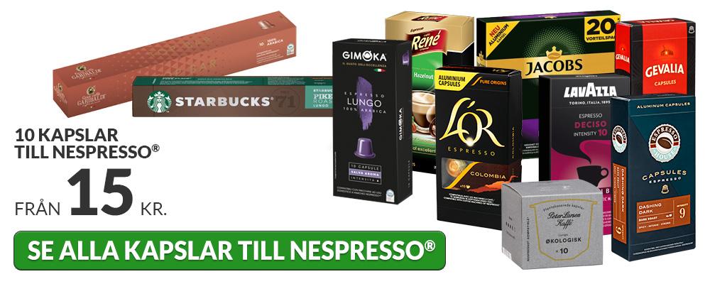 Kapslar till Nespresso