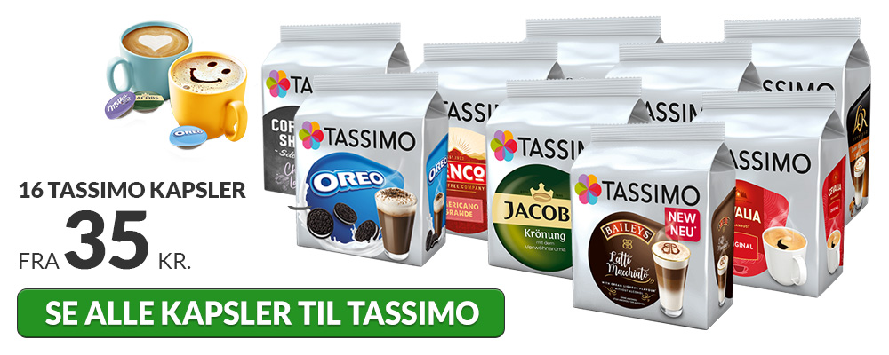 Kapsler til Tassimo